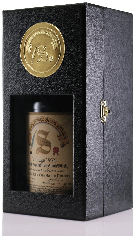 Whisky 1975 Glen Rothes Signatory
