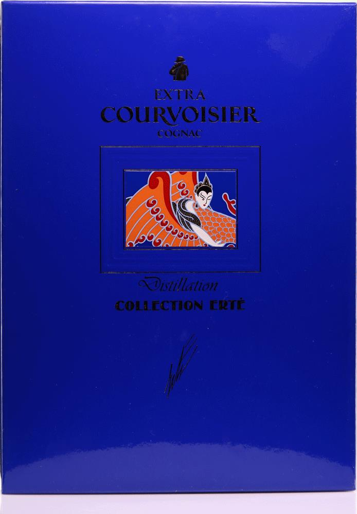 Cognac Courvoisier Erté Collection, No.3 Distillatio