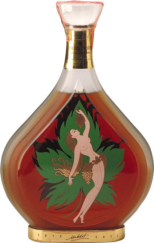 Cognac Courvoisier Erté Collection No.8 Inedit