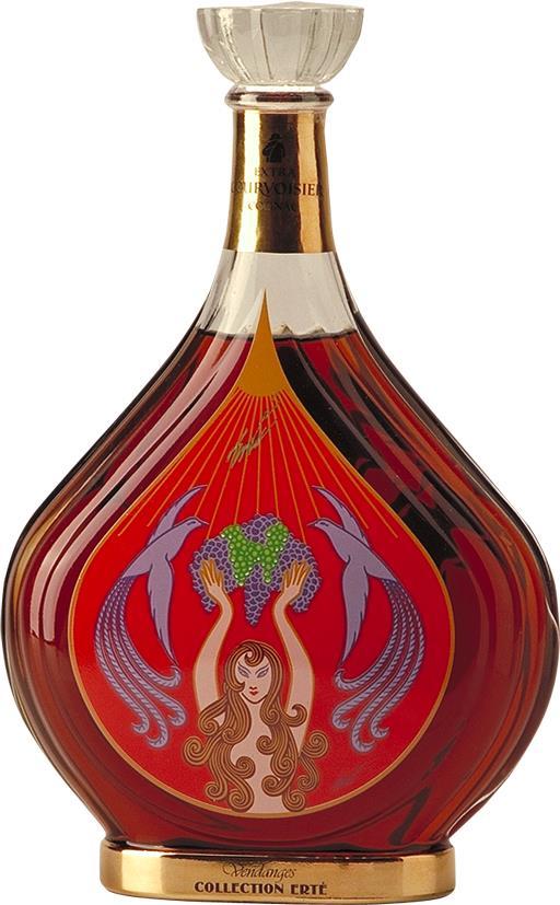 Cognac Courvoisier Erté Collection No.2 Vendanges (25800)