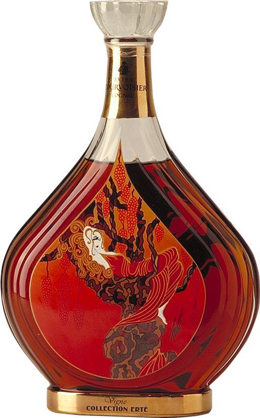 Cognac Courvoisier Erté No. 1 Vigne (25793)