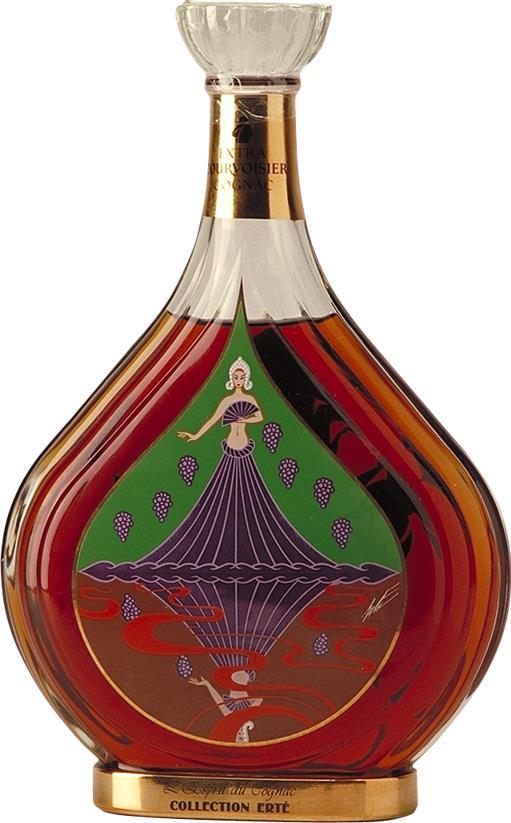 Cognac Courvoisier Erté No. 6 l'Esprit du Cognac (25832)
