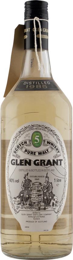 Whisky 1985 Glen Grant (27719)
