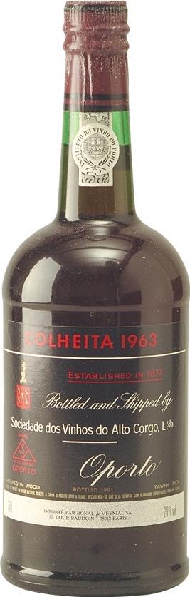 Port 1963 Sociedade dos Vinhos do Alto Corgo, Colheita (3275)