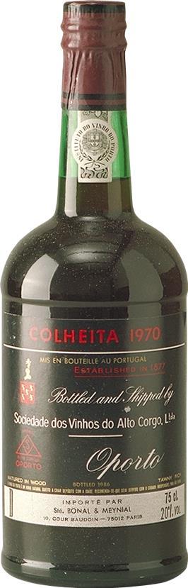 Port 1970 Sociedade dos Vinhos do Alto Corgo, Colheita (3285)