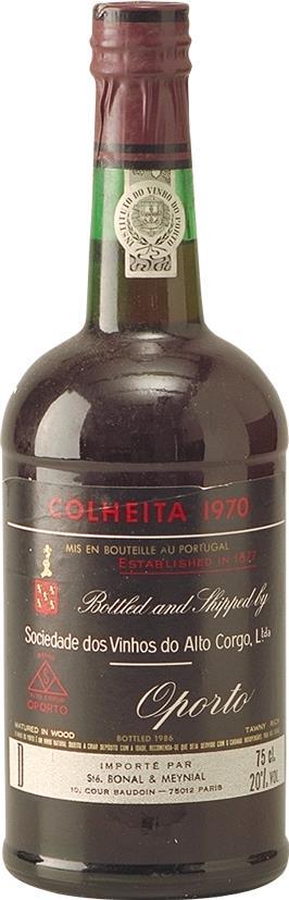 Port 1970 Sociedade dos Vinhos do Alto Corgo (3286)