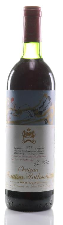 Wine 1981 Château Mouton Rothschild