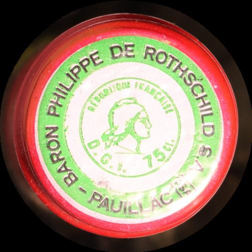 Wine 1981 Château Mouton Rothschild Pauillac