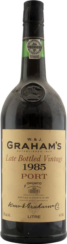 Port 1985 Graham W. & J., Late Bottled Vintage (3306)