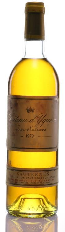 SAUTERNES 1979 CHATEAU D'YQUEM