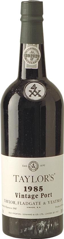 Port 1985 Taylor, Fladgate & Yeatman, Glass button (16601)