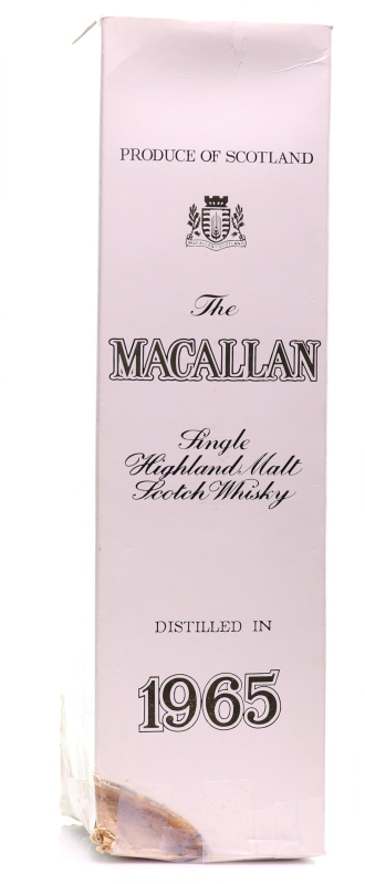 Whisky 1965  Macallan