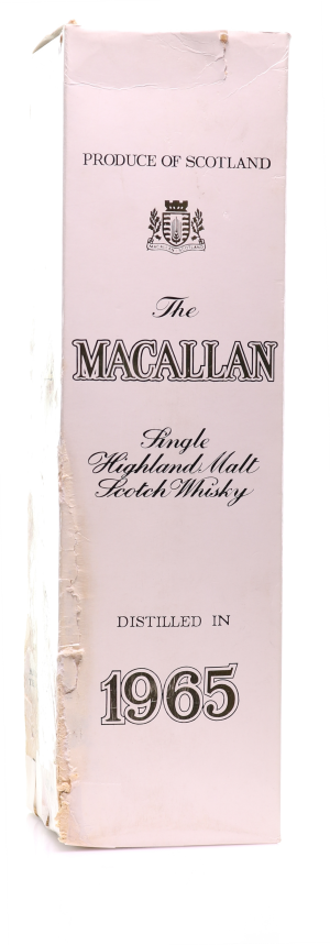 Whisky 1965 The Macallan 17 Y.O. Sherry Wood - Bottled 1984, Original Bottling