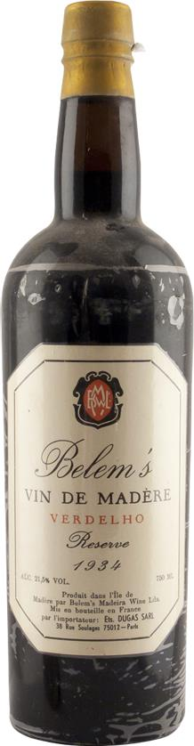 Madeira 1934 Belem's, Réserve (3393)
