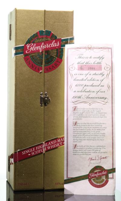 Whisky Glenfarclas 150th Anniversary