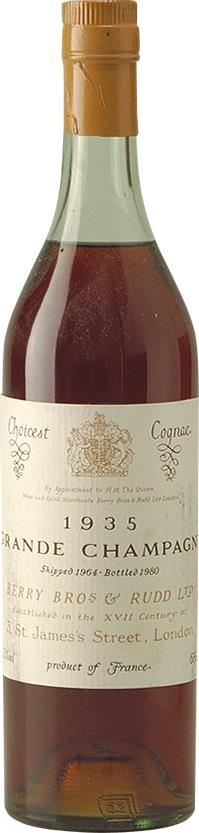 Cognac 1935 Berry Brothers & Rudd (3411)