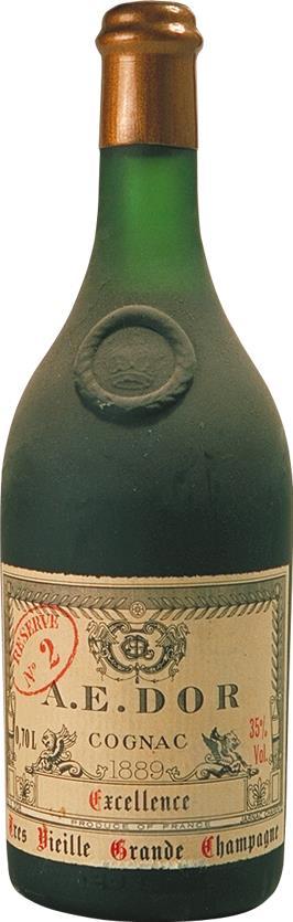 Cognac 1889 A.E. DOR Très Vieille No. 2, Excellence (3443)