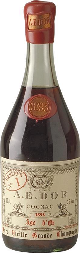 Cognac 1893 A.E. DOR