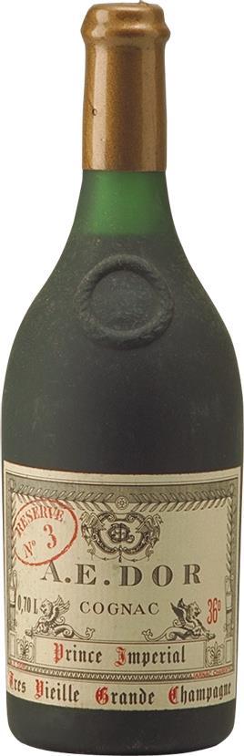 Cognac 1875 A.E. DOR Très Vieille  No. 3  Prince Impériale