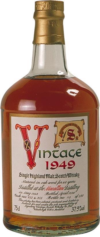 Whisky 1949 Macallan (3463)