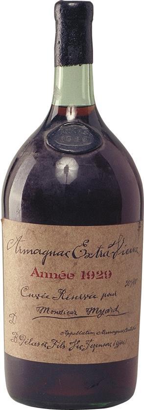 Armagnac 1929 Gelas 2.5L (3471)