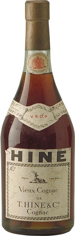 Hine Cognac VSOP Fine Champagne 70cl 1960s (3475)
