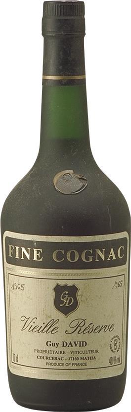 Cognac 1965 Guy David (3524)