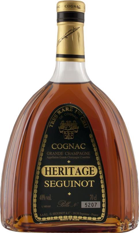 Cognac NV Séguinot P., Tres Rare 1er Cru (3536)