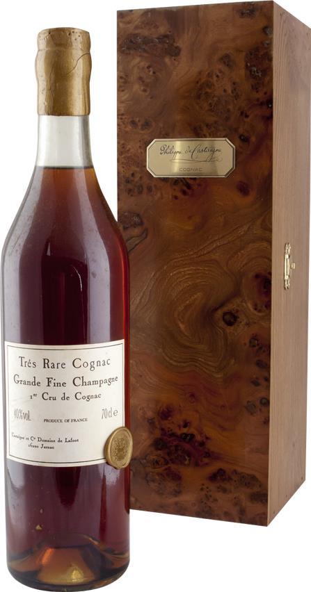 Cognac 1850 Philippe de Castaigne, Très Rare 100% Folle Blanche