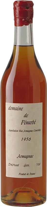 Armagnac 1956 Domaine de Pénarbé (3563)