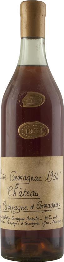 Armagnac 1934 Château de Campagne (3574)