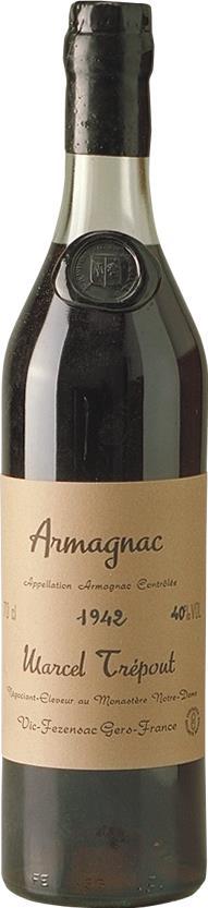 Armagnac 1942 Marcel Trépout (3588)