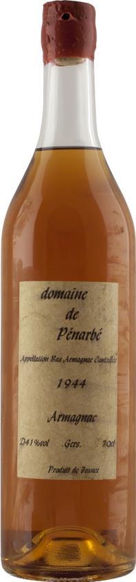 Armagnac 1944 Domaine de Pénarbé (3590)