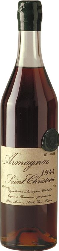 Armagnac 1944 Saint Christeau (3591)