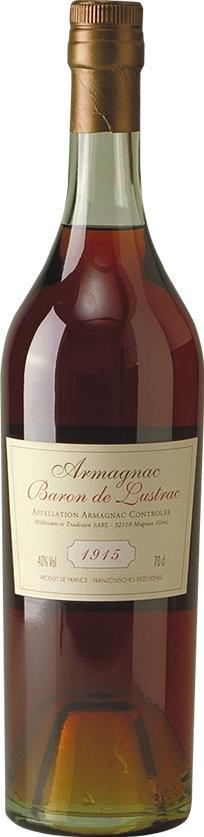 Armagnac 1915 Baron de Lustrac (3620)