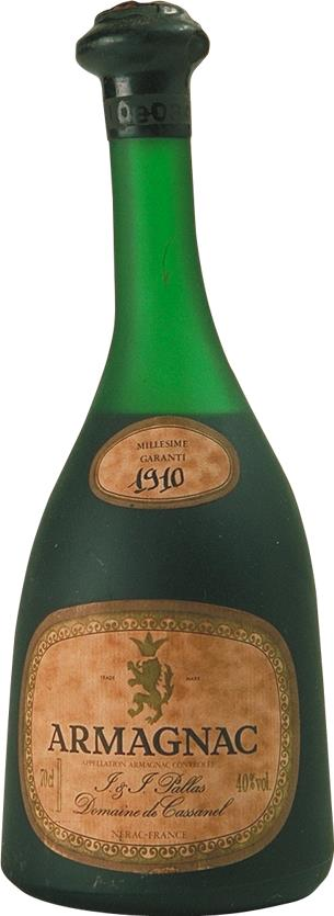 Armagnac 1910 Pallas J. & J. (3630)