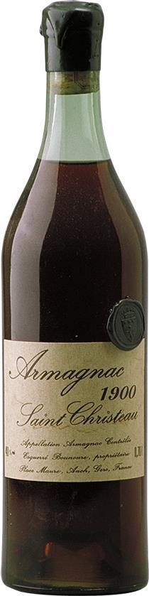 Armagnac 1900 Saint Christeau (3636)