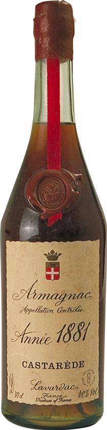 Armagnac 1881 Castarède (3650)