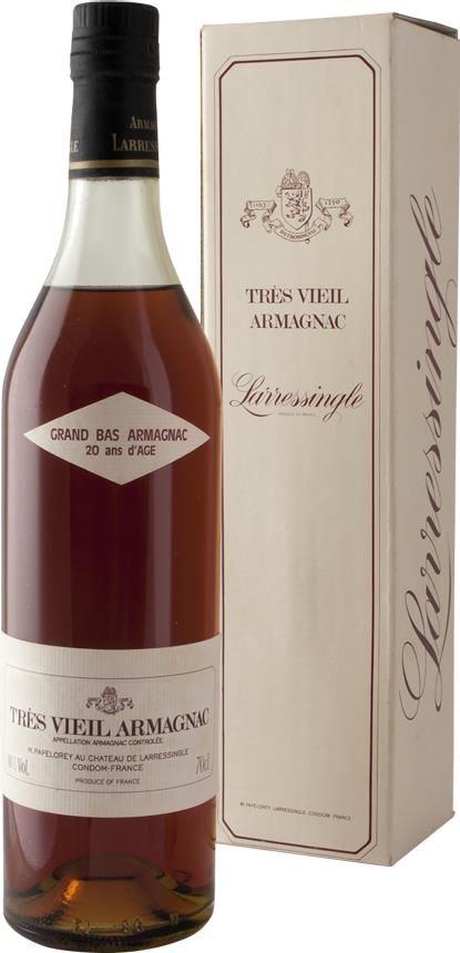 Armagnac NV Larressingle, 20 years of age (3659)