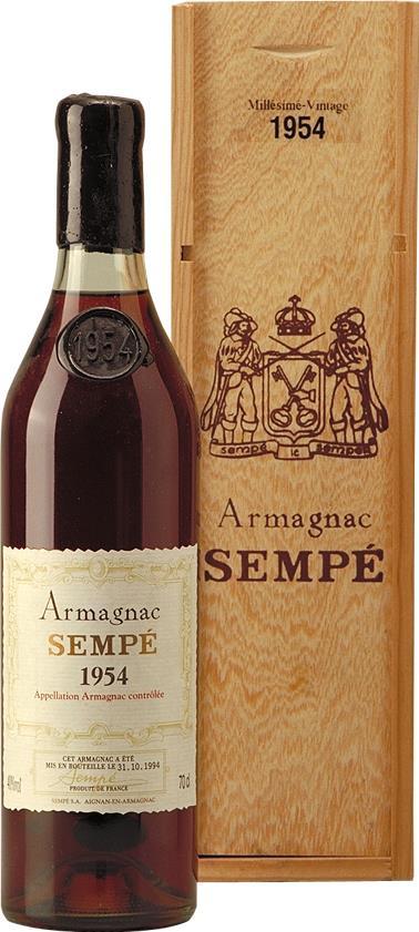 Armagnac 1954 Sempé (16699)