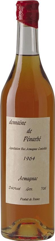 Armagnac 1964 Domaine de Pénarbé (3672)