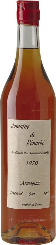 Armagnac 1970 Domaine de Pénarbé (3673)