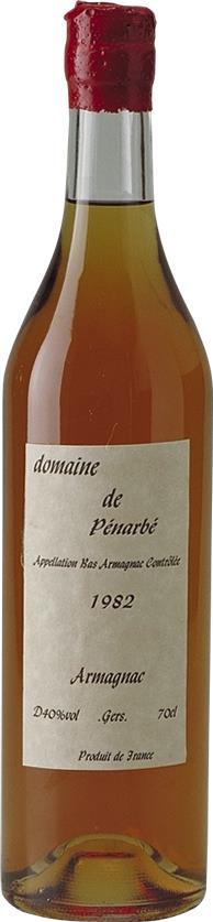 Armagnac 1982 Domaine de Pénarbé, Bas-Armagnac (3699)