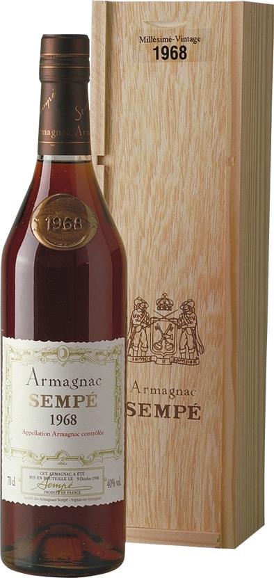 Armagnac 1968 Sempé (3707)