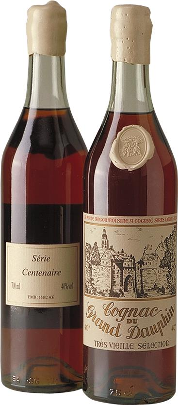 Cognac Grand Dauphin Centenaire Très Vieille (3721)