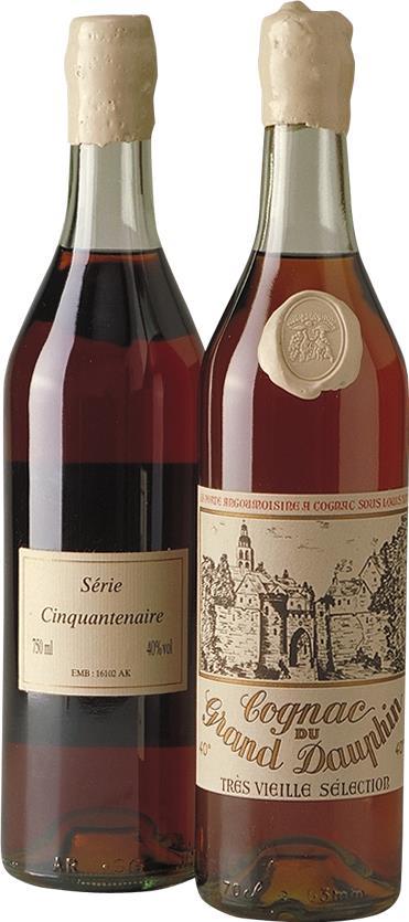 Cognac 1950 Grand Dauphin Cinquantenaire, Très Vieille (3722)