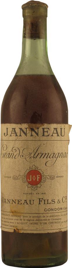 Armagnac Janneau Grand Armagnac 1920s (20104)