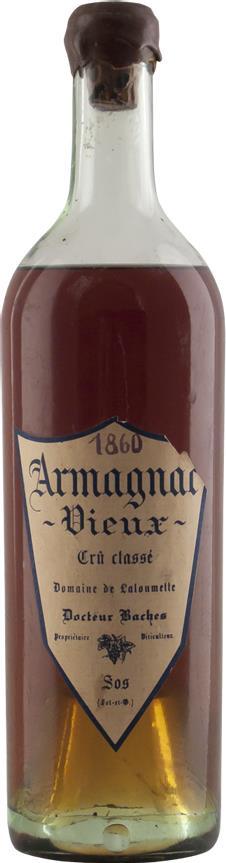 Armagnac 1860 Domaine de Laloumette (20105)