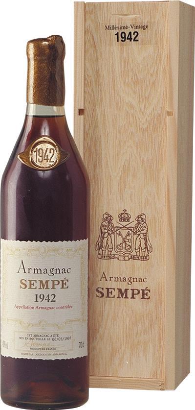 Armagnac 1942 Sempé (3741)