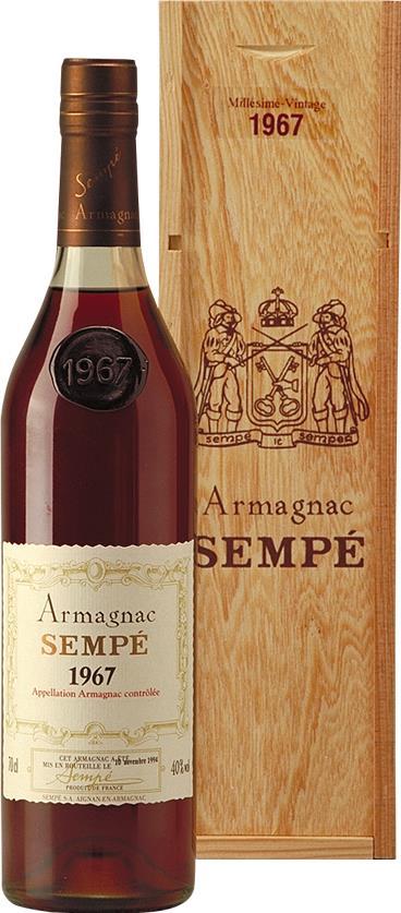 Armagnac 1967 Sempé (3743)